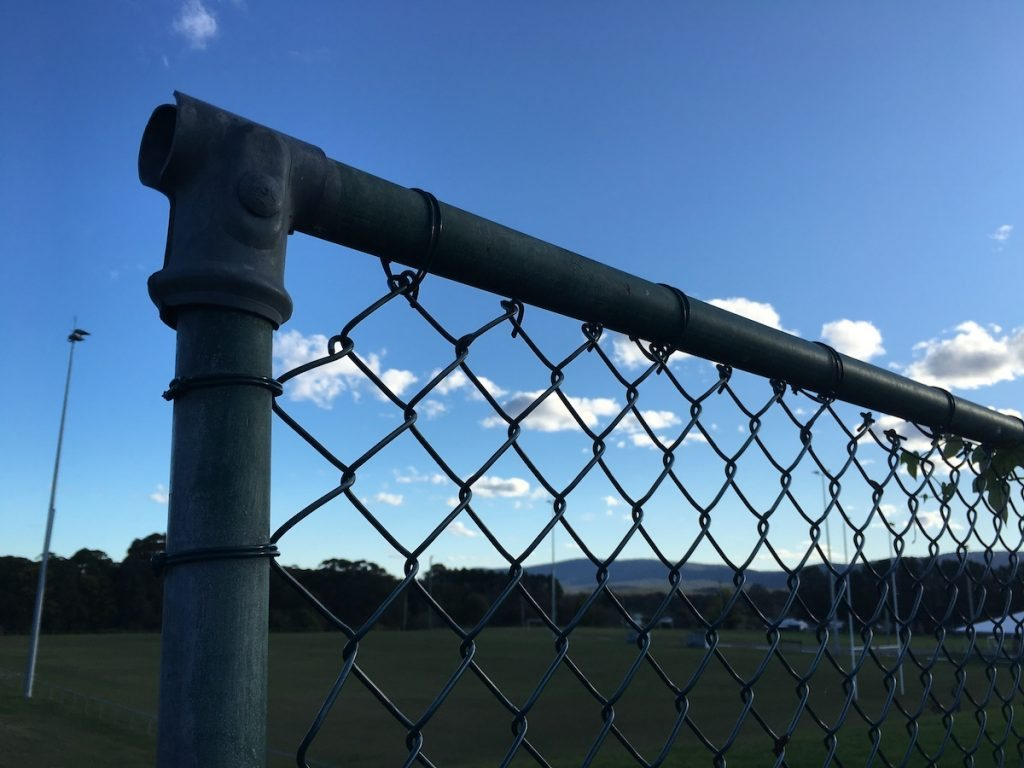 georgetown black chainwire fencing