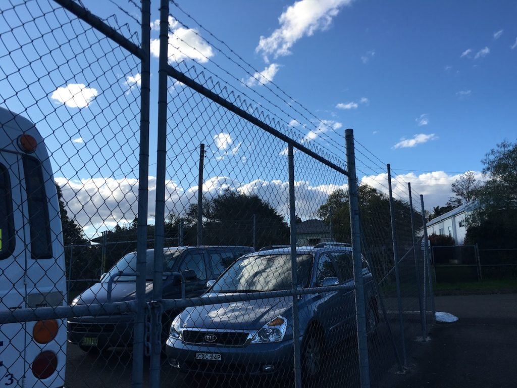 lambton barbed wire fencing