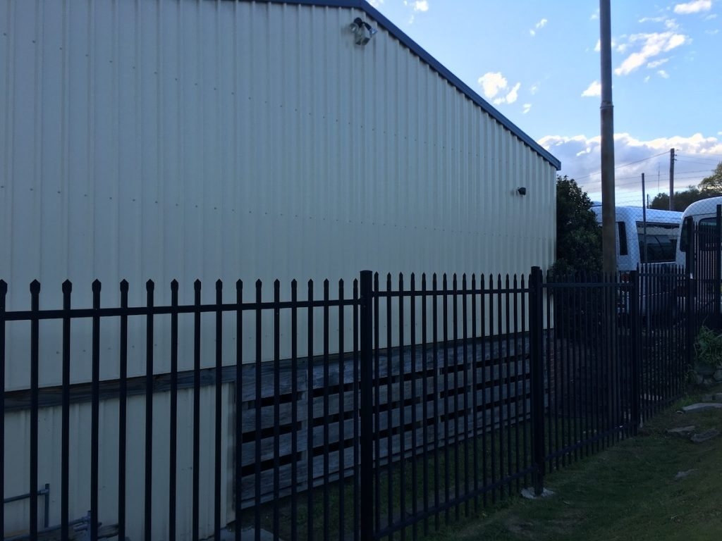 tighes hill security fencing