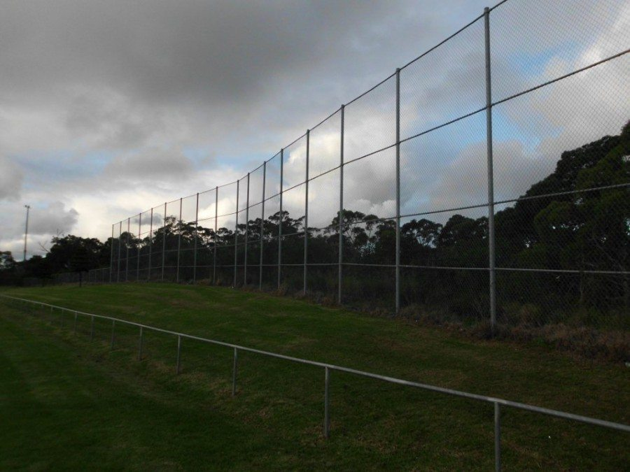 chainwire screen charlestown football field