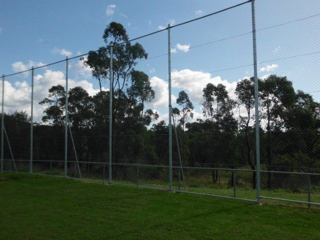 chainwire screen sports fields