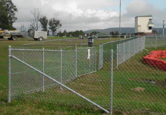 go kart track fencing