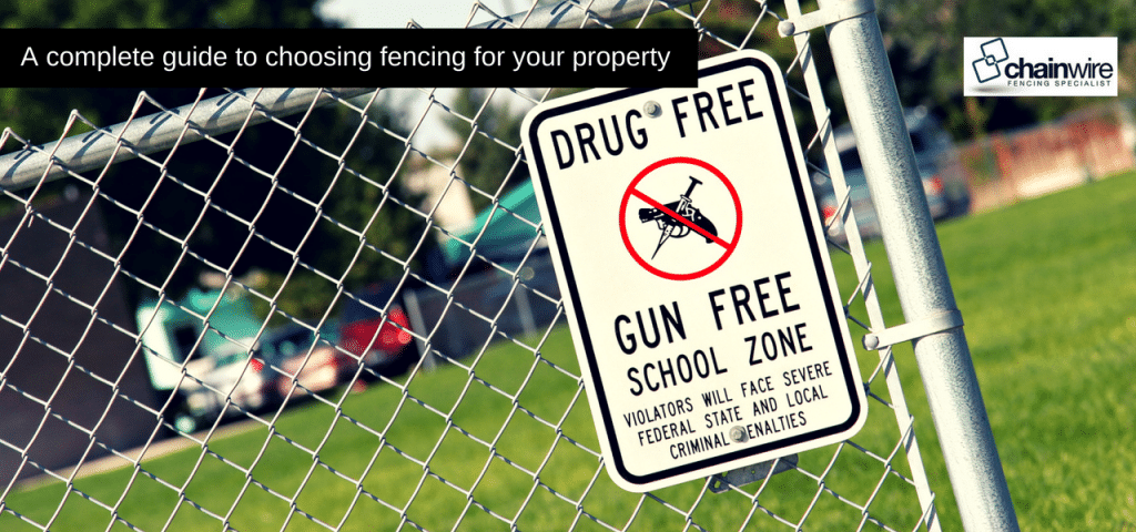 choosing fencing for your property