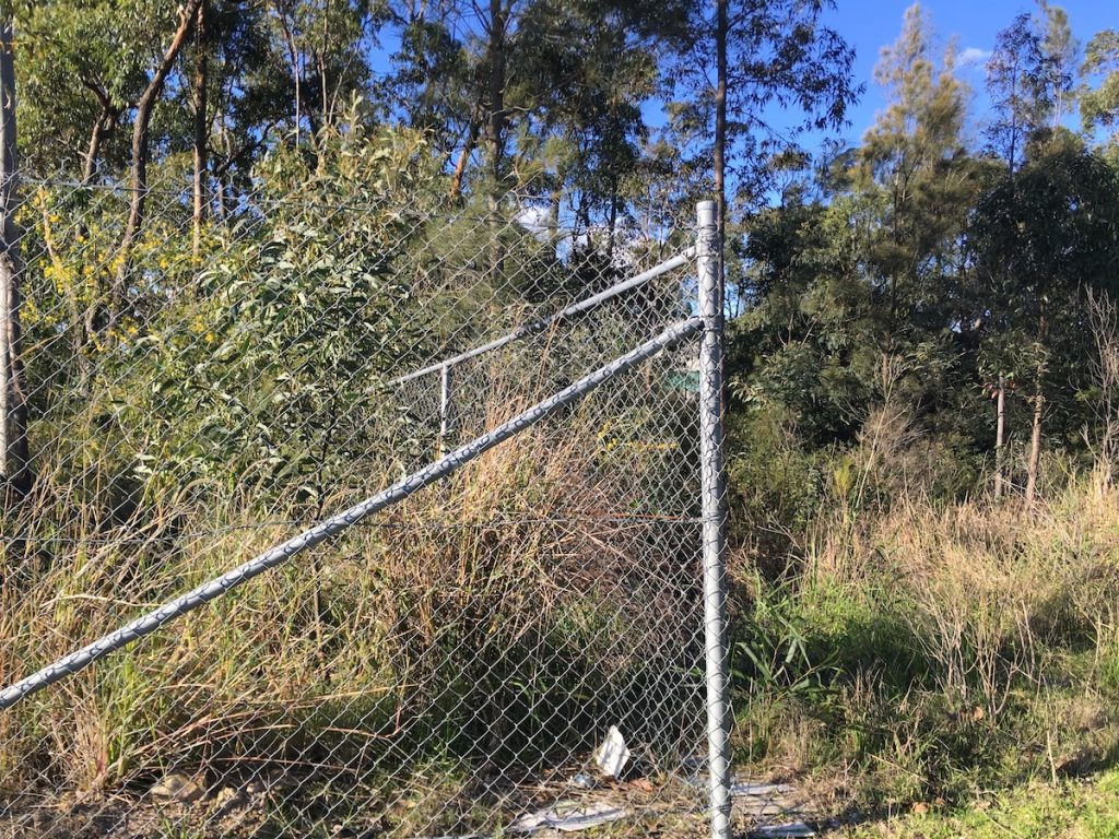 dungog chain wire fencing