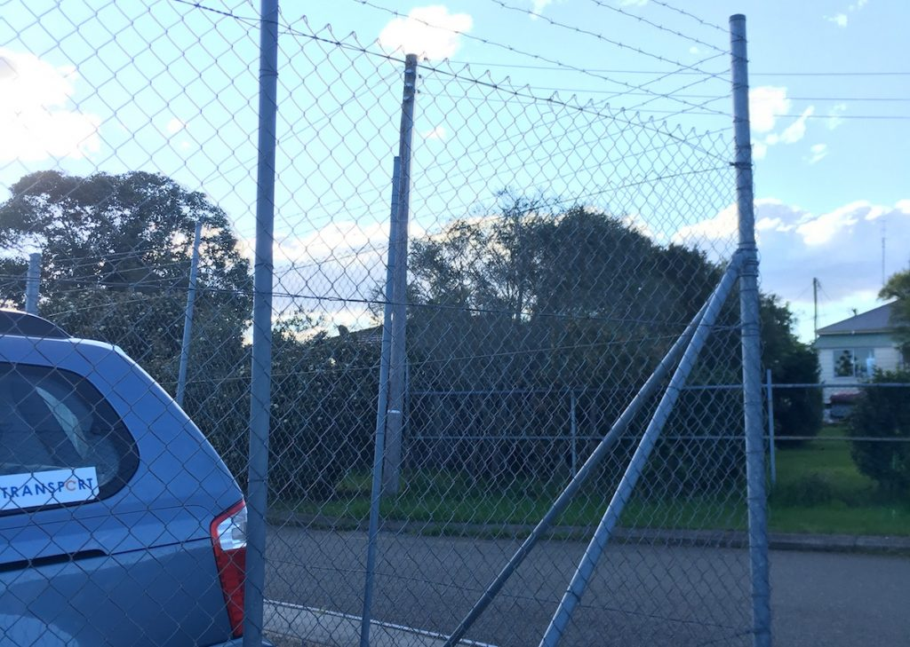 gloucester chain wire fencing