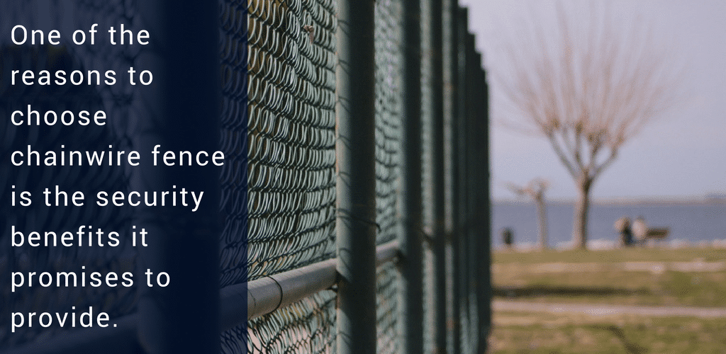 why choose a chainwire security fence