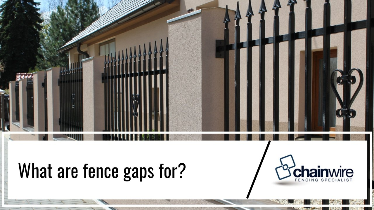 Why Do Fences Have Gaps? - Fence