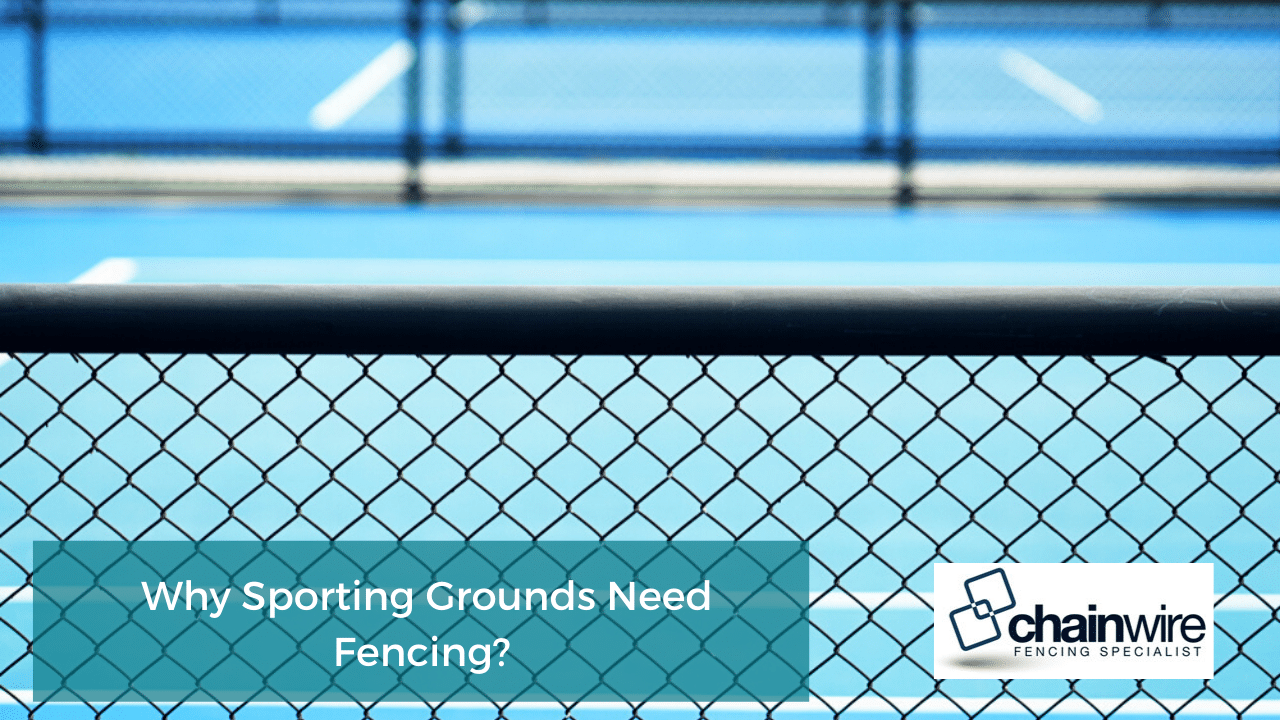 How is Chainwire Fencing Used In and Around Sports Grounds? - Fencing