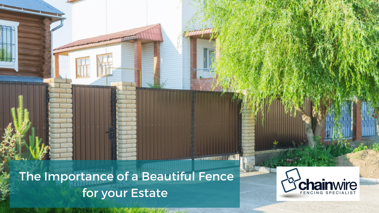 Elegant and Sturdy: The Perfect Fence for your Estate - Fence
