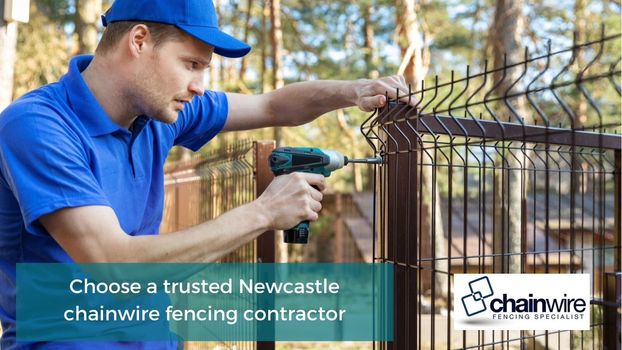 Newcastle chainwire fencing contractor