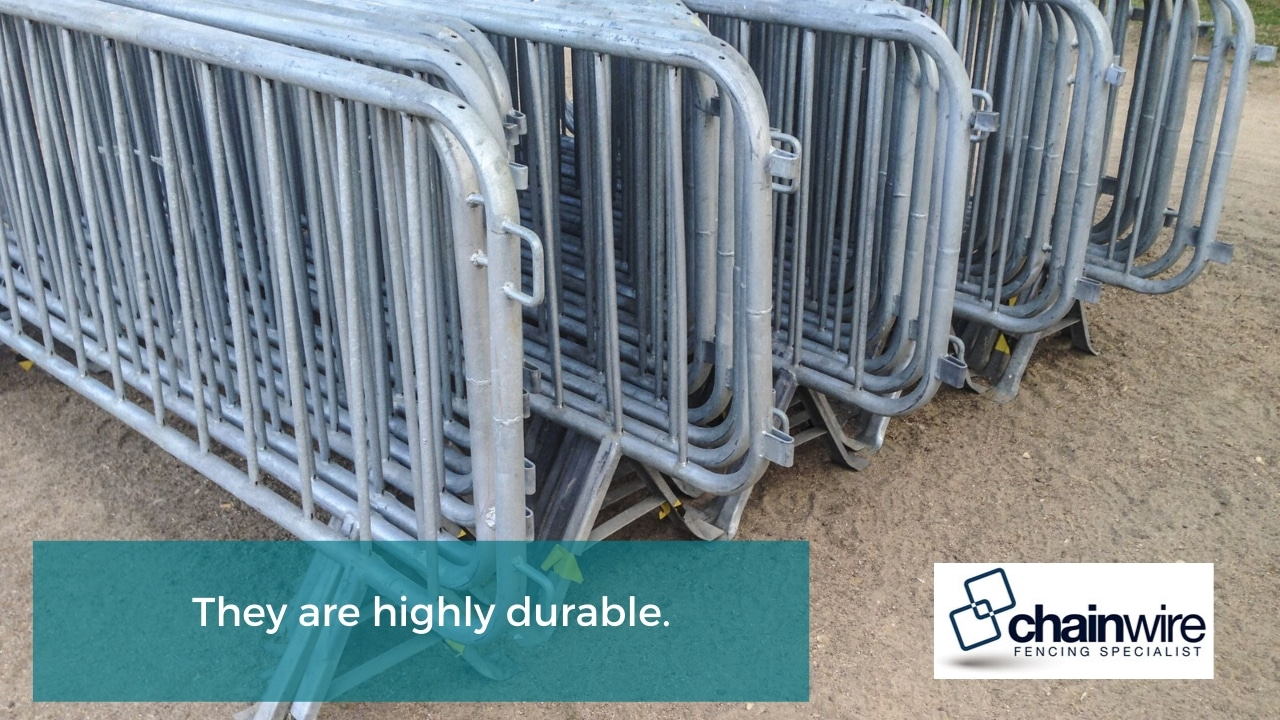 They are highly durable.