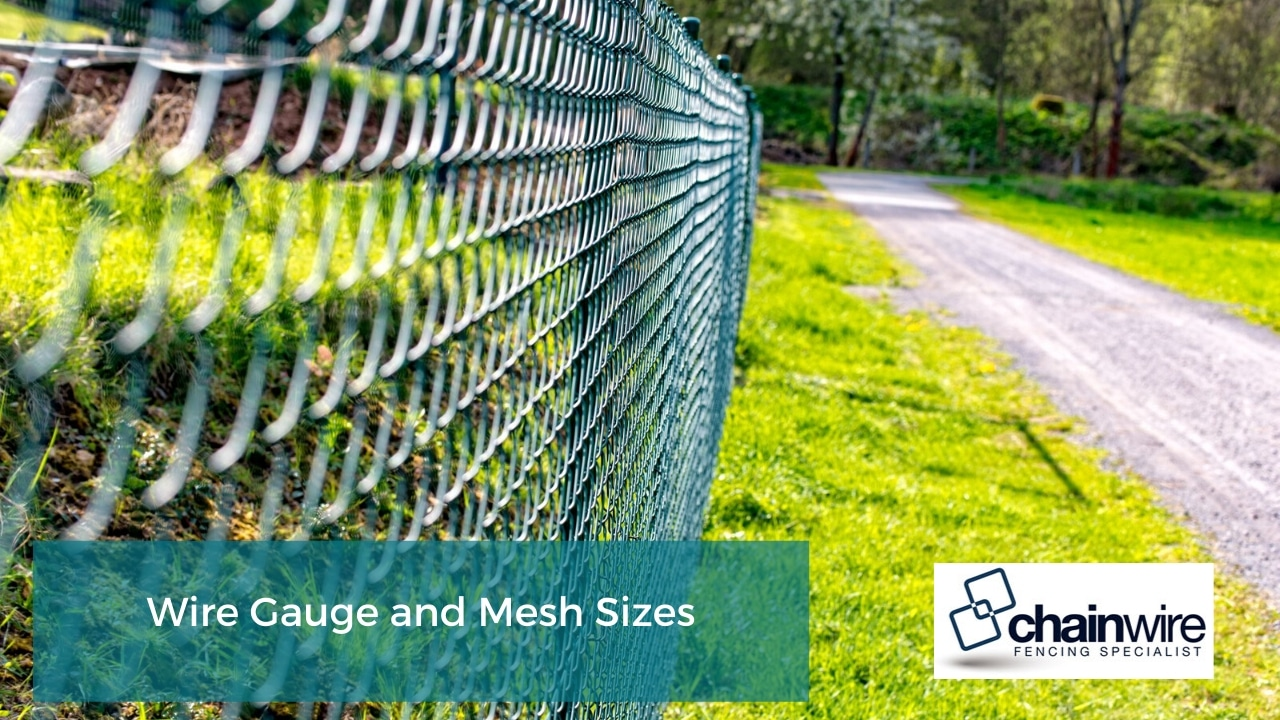 Wire Gauge and Mesh Sizes