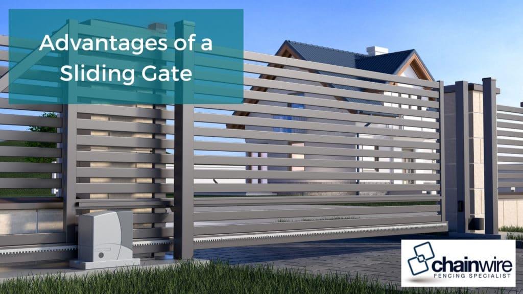 Advantages of a Sliding Gate