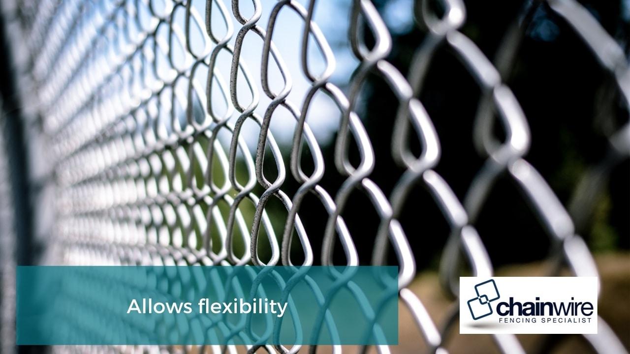 Allows flexibility