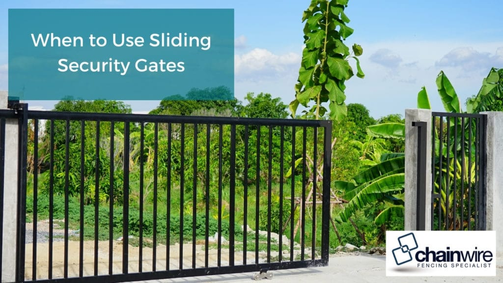 When to Use Sliding Security Gates