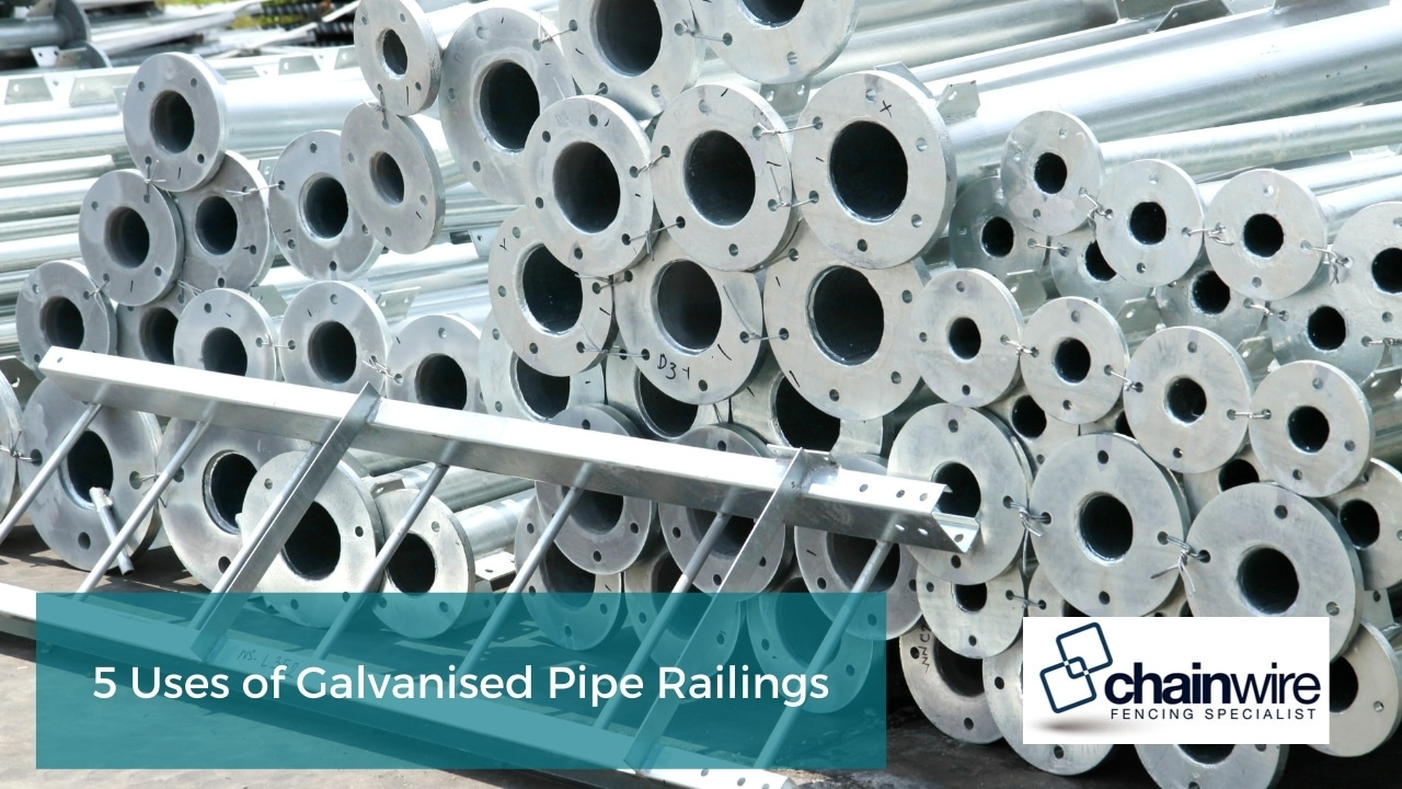 5 Uses of Galvanised Pipe Railings