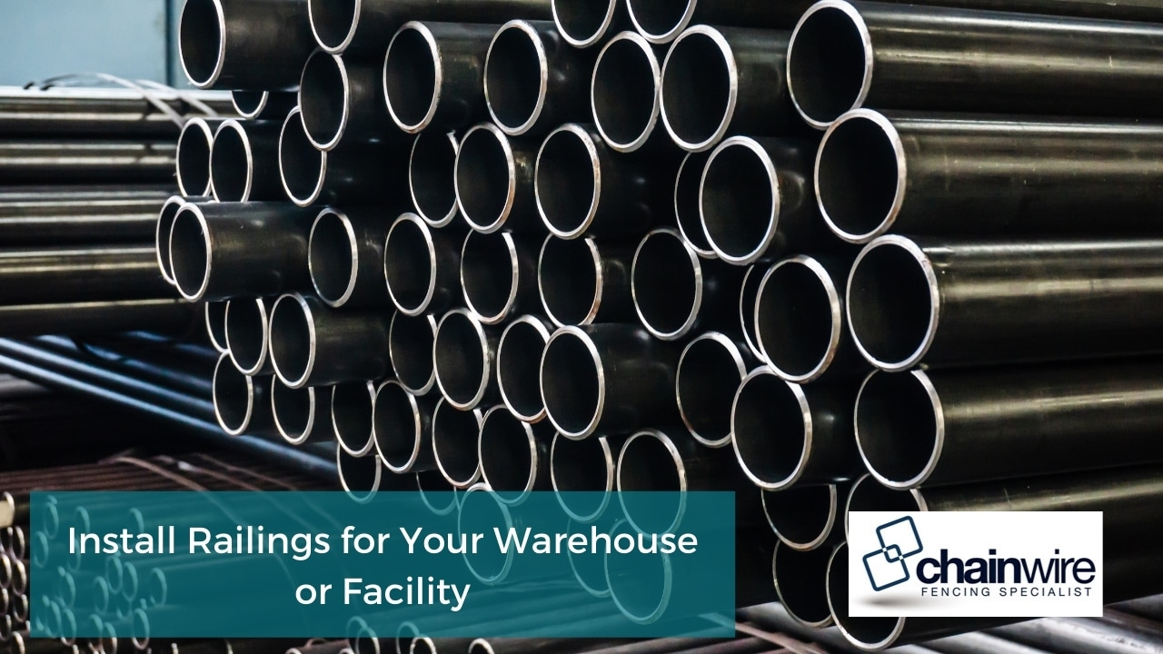 Install Railings for Your Warehouse or Facility