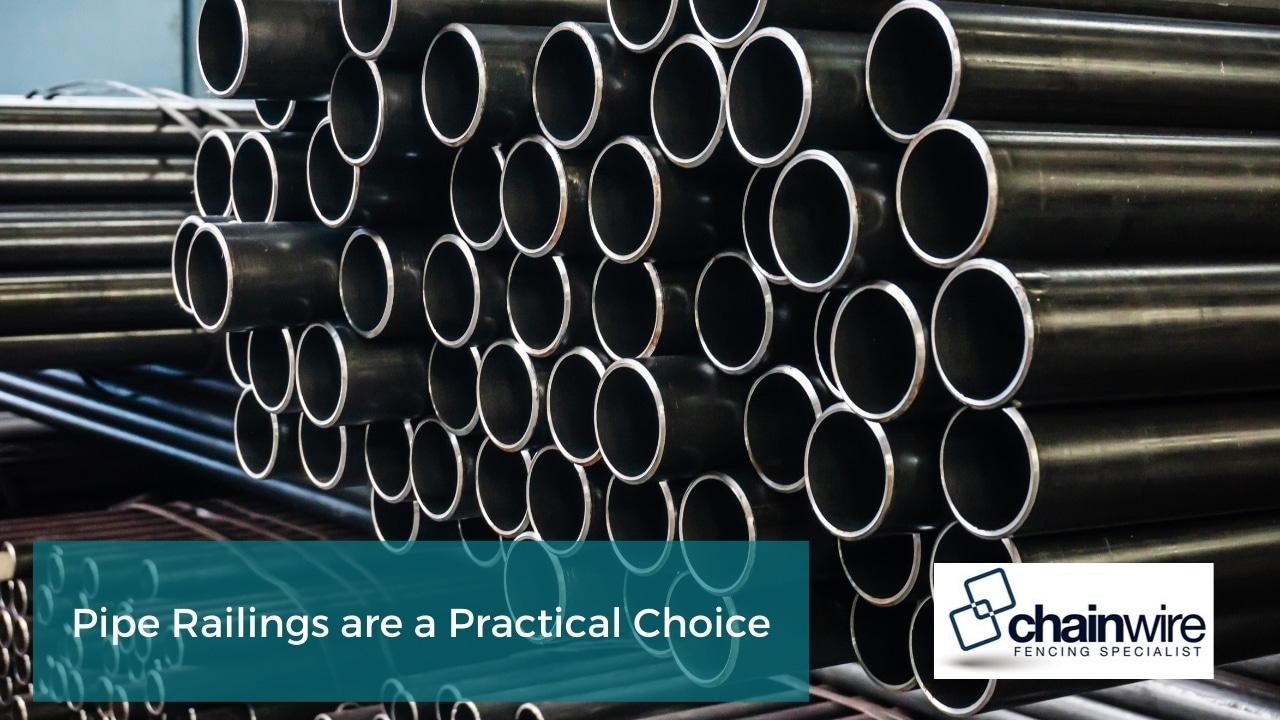 Pipe Railings are a Practical Choice