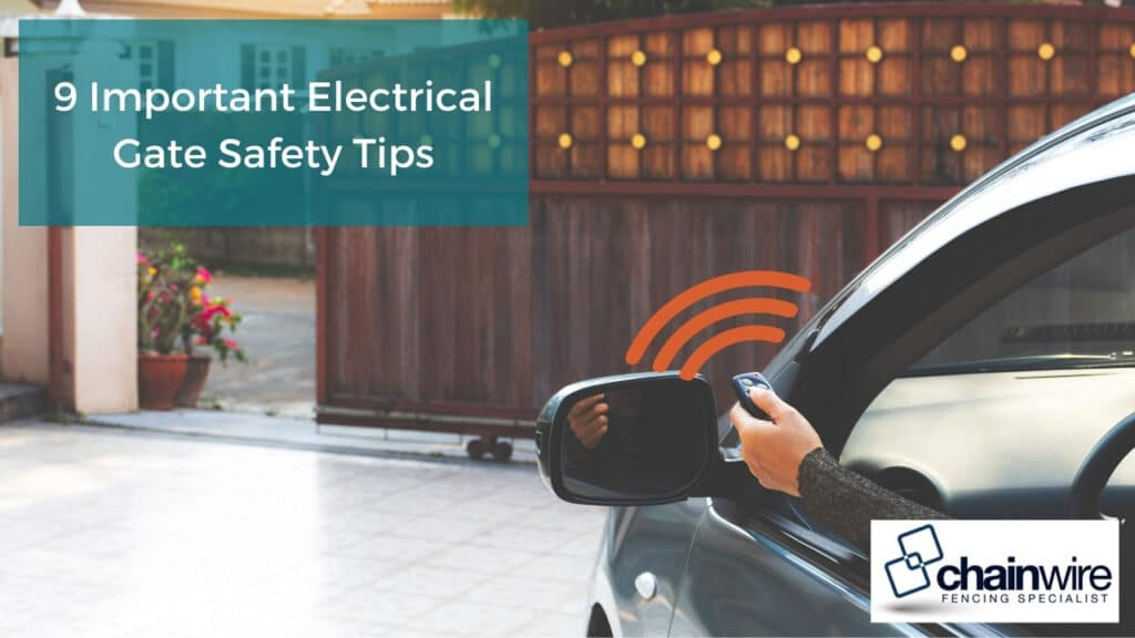 9 Important Electrical Gate Safety Tips