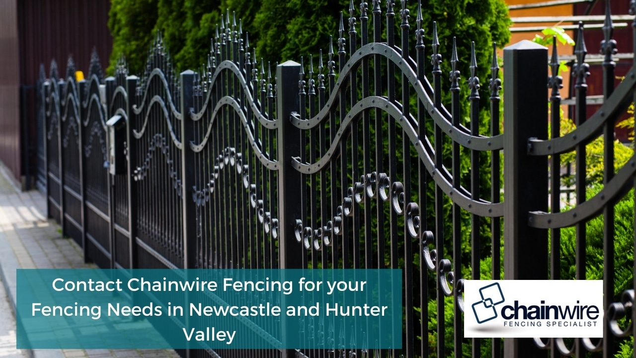 Contact Chainwire Fencing for your Fencing Needs in Newcastle and Hunter Valley
