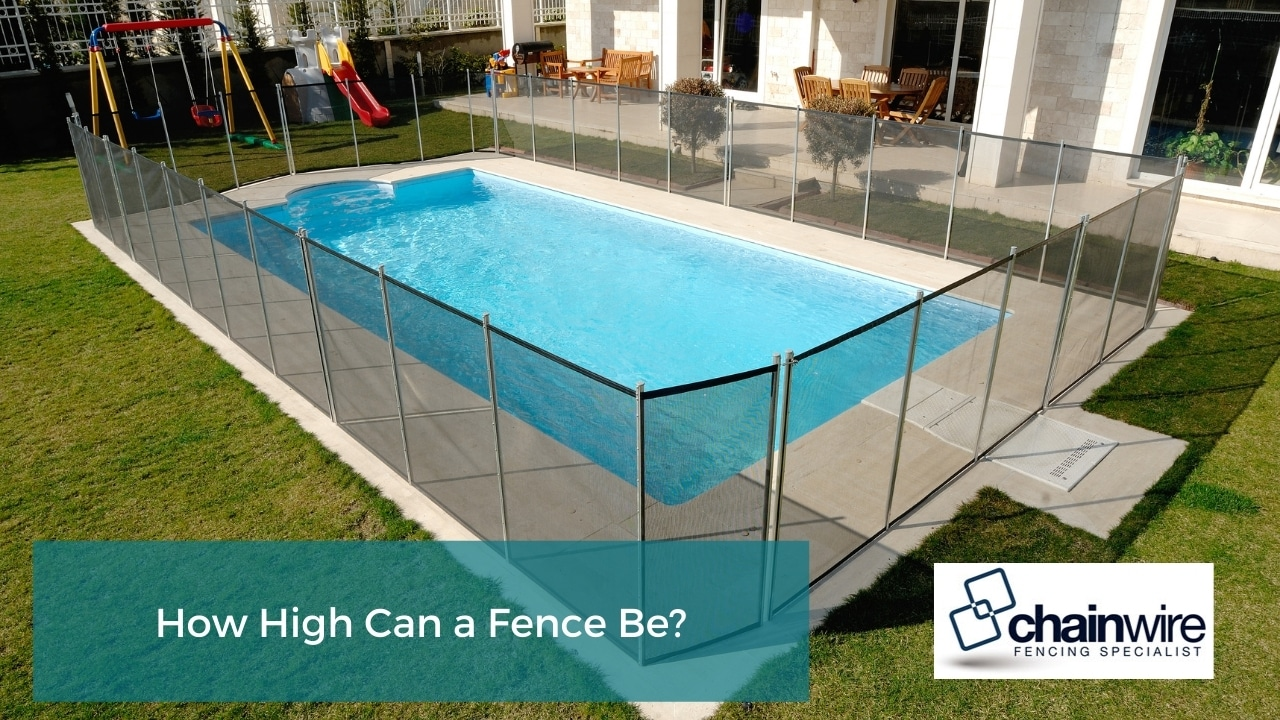 How High Can a Fence Be?