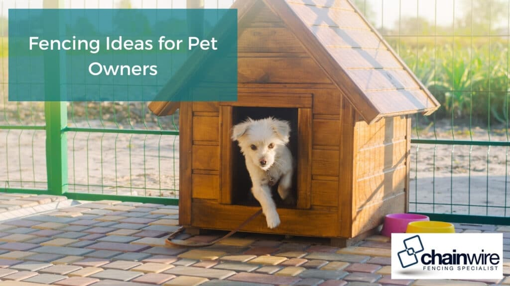 Fencing Ideas for Pet Owners