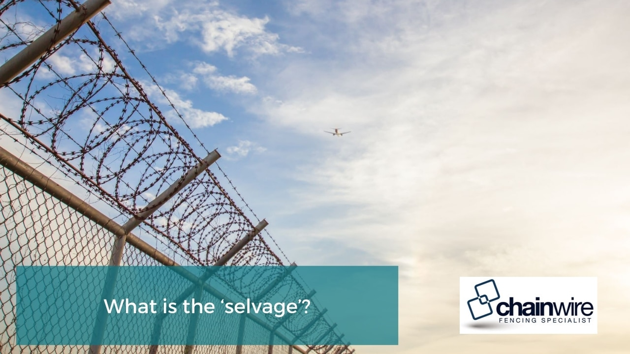 What is the 'selvage'
