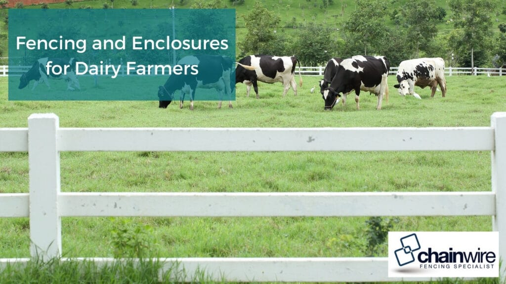 Fencing and Enclosures for Dairy Farmers